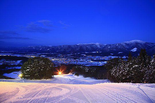 水晶山スキー場